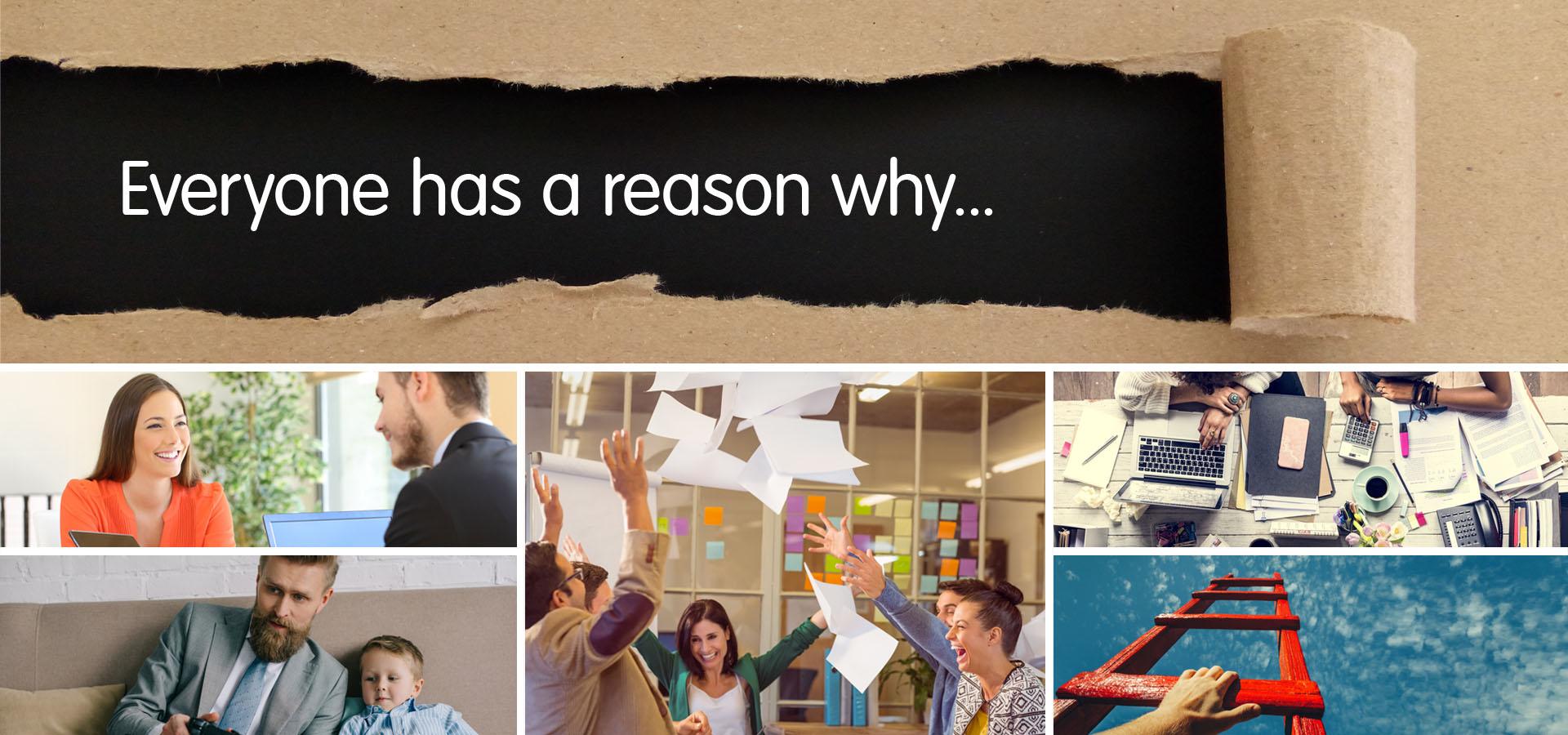 IMB Bank | Everyone has a reason why...